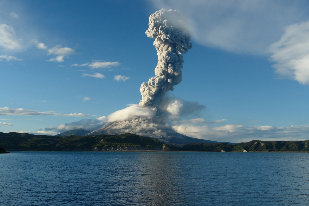 фото потухший вулкан